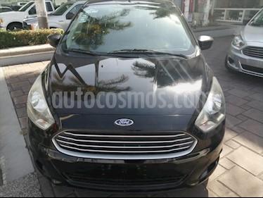 Ford Figo Sedan Impulse Aut A/A usado (2017) color Negro precio $152,900