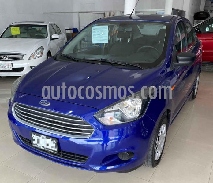 Ford Figo Sedan Impulse A/A usado (2017) color Azul precio $139,000