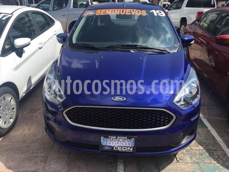 Ford Figo Sedan Impulse Aut A/A usado (2019) color Azul Electrico precio $175,000