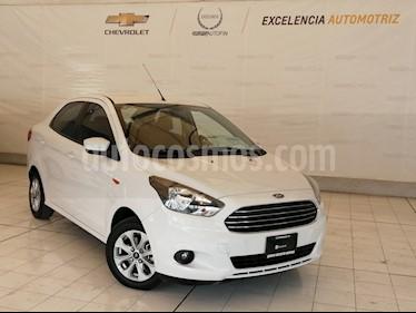 Ford Figo Sedan Titanium Aut usado (2017) color Blanco precio $154,600