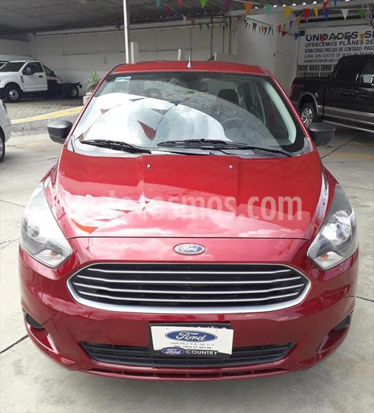 Ford Figo Sedan Impulse  usado (2017) color Rojo precio $138,000
