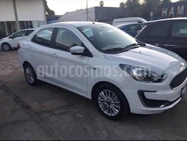 Ford Figo Sedan Titanium Aut usado (2019) color Blanco precio $249,000