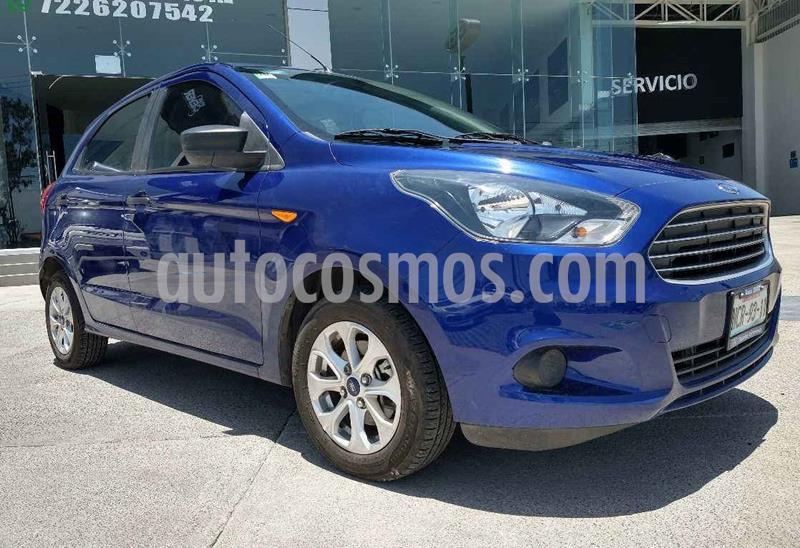 Ford Figo Sedan Version usado (2018) color Azul precio $159,900