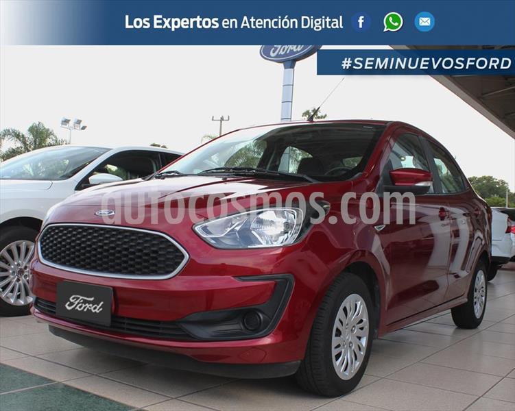 Ford Figo Sedan Impulse A/A usado (2019) color Rojo precio $195,000