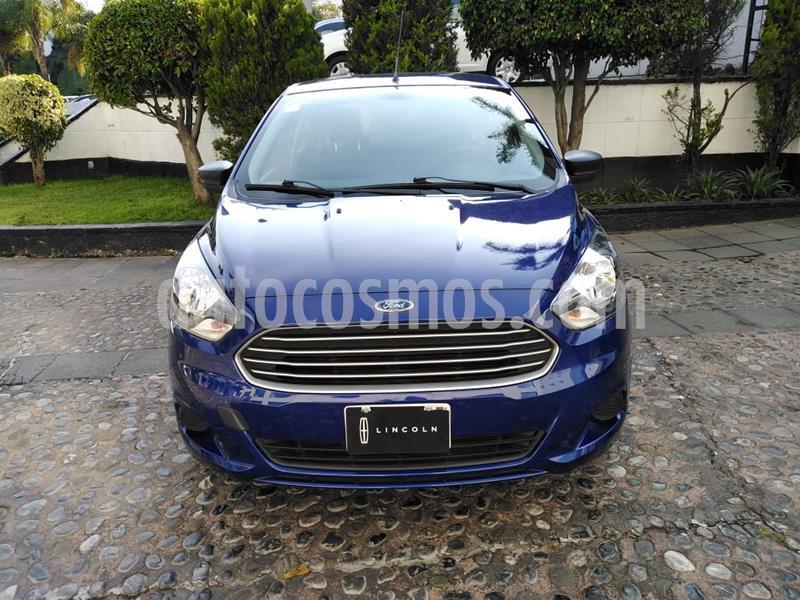 Ford Figo Sedan Impulse  usado (2018) color Azul precio $160,000