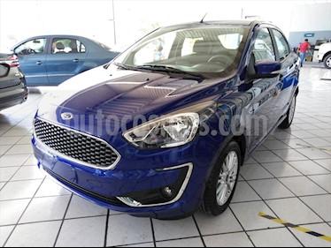 Ford Figo Sedan Titanium Aut usado (2019) color Azul Marino precio $264,689