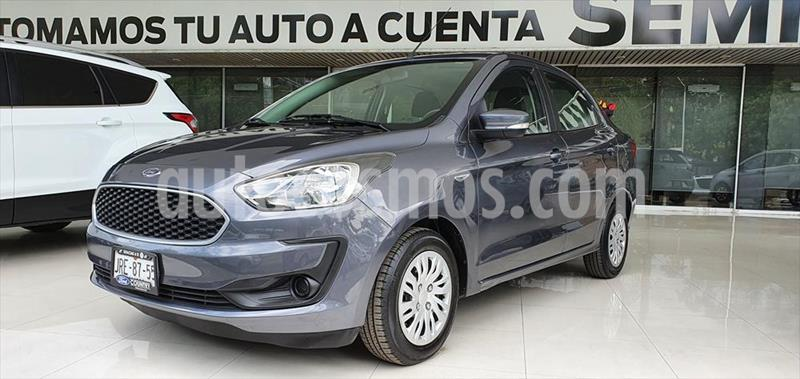 Ford Figo Sedan Impulse A/A usado (2019) color Gris Oscuro precio $177,000