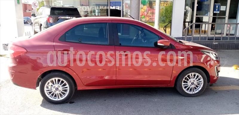 Ford Figo Sedan Titanium Aut usado (2019) color Rojo precio $205,000