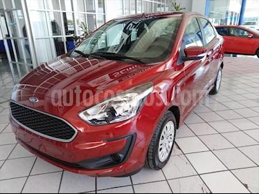 Ford Figo Sedan Impulse A/A usado (2019) color Rojo precio $215,000