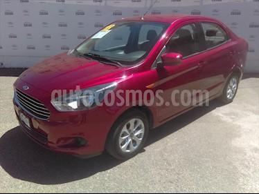 Ford Figo Sedan Titanium Aut usado (2018) color Rojo precio $185,000