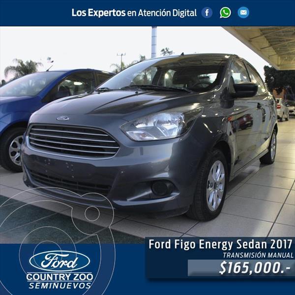 Ford Figo Sedan Energy usado (2017) color Gris precio $165,000