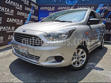 Ford Figo Sedan Energy usado (2017) color Plata Estelar precio $140,000