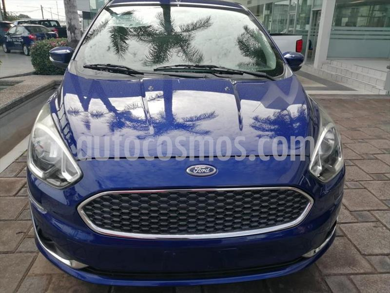 Ford Figo Sedan Titanium Aut usado (2019) color Azul Electrico precio $194,000