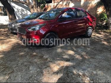 Ford Figo Sedan Impulse A/A usado (2017) color Rojo precio $162,000