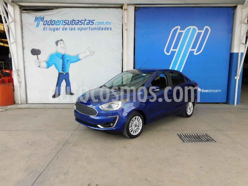 Ford Figo Sedan Titanium Aut usado (2019) color Azul precio $137,000