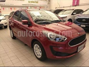 Ford Figo Sedan Impulse Aut A/A usado (2019) color Rojo precio $193,000