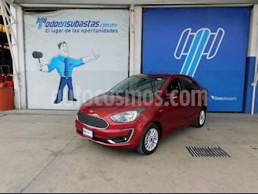 Ford Figo Sedan Titanium Aut usado (2019) color Rojo precio $142,000