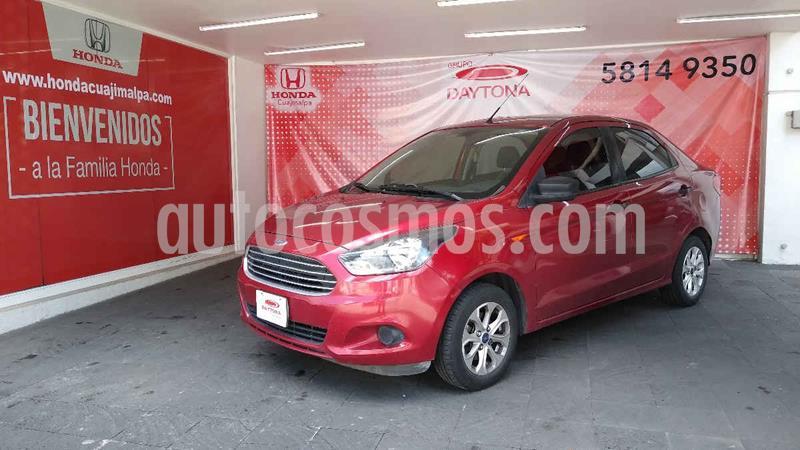 Ford Figo Sedan Energy usado (2017) color Rojo precio $158,000
