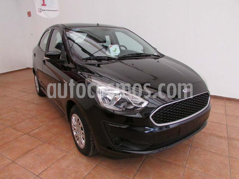 Ford Figo Sedan Impulse Aut A/A usado (2019) color Negro precio $215,000