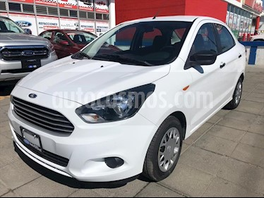 Ford Figo Sedan Impulse Aut A/A usado (2018) color Blanco precio $200,000