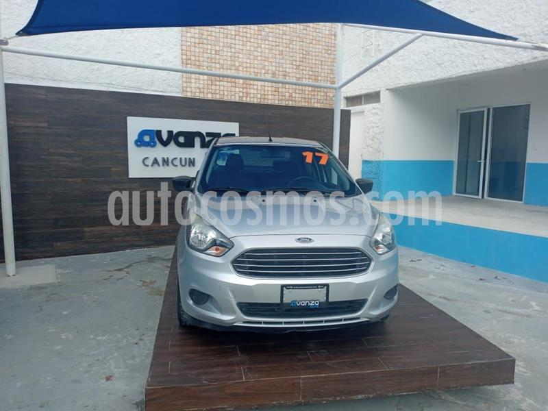 Ford Figo Sedan Impulse  usado (2017) color Plata Dorado precio $135,000