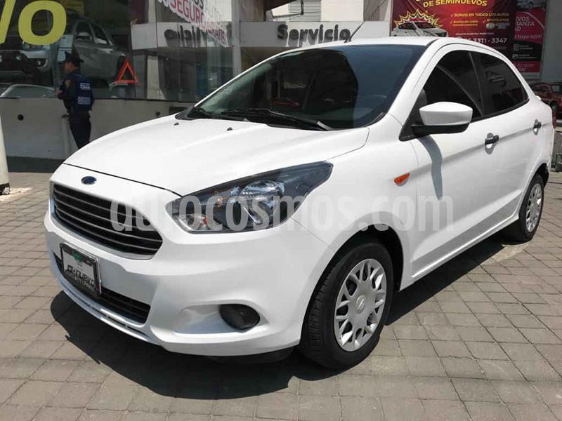 Ford Figo Sedan Impulse Aut A/A usado (2017) color Blanco precio $155,000