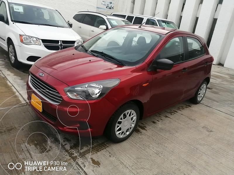 Ford Figo Sedan Impulse A/A usado (2016) color Rojo precio $130,000
