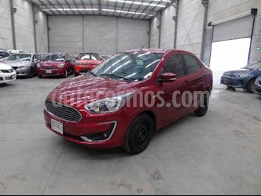 Ford Figo Sedan Titanium Aut usado (2019) color Vino Tinto precio $129,000