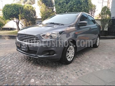 Ford Figo Sedan Impulse A/A usado (2018) color Gris Oscuro precio $165,000