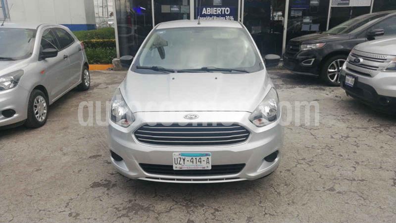 Ford Figo Sedan Impulse Aut A/A usado (2018) color Plata precio $175,000