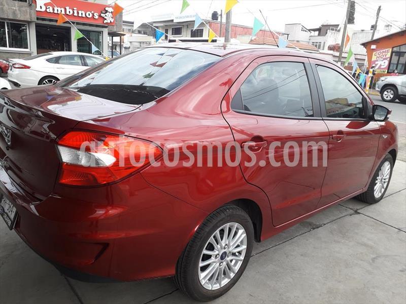 Ford Figo Sedan Titanium Aut usado (2019) color Rojo precio $235,000