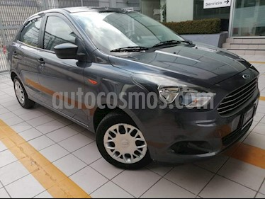 Ford Figo Sedan Impulse  usado (2018) color Gris Hierro precio $155,000