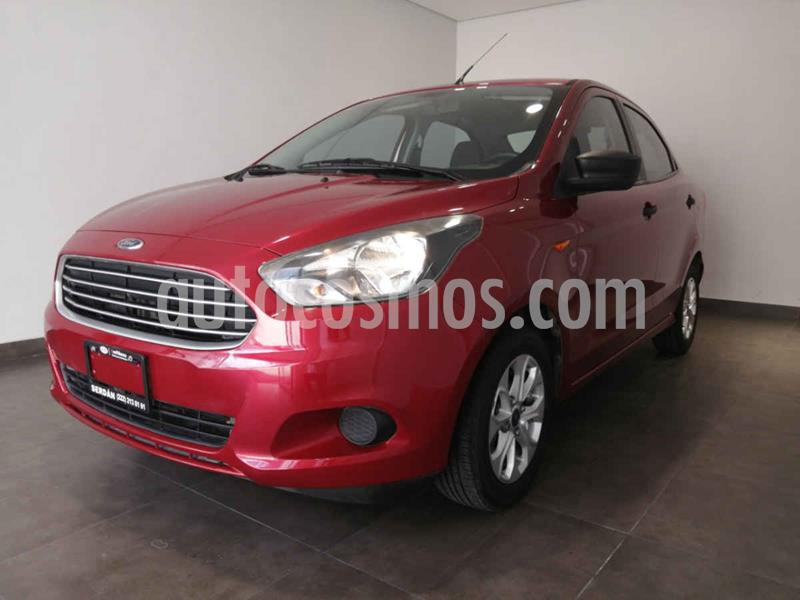 Ford Figo Sedan Version usado (2018) color Rojo precio $170,000
