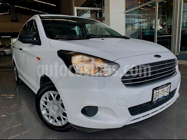 Ford Figo Sedan Impulse  usado (2018) color Blanco precio $41,800