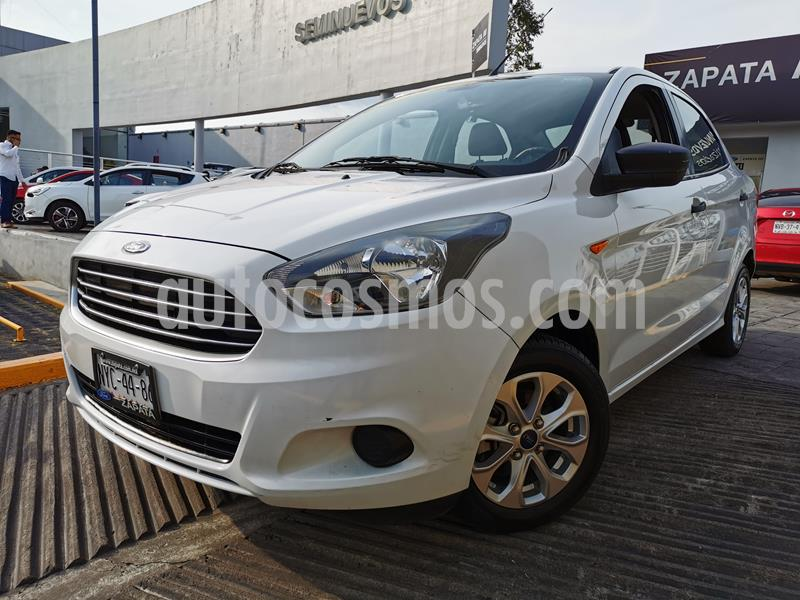 Ford Figo Sedan Energy usado (2018) color Blanco Oxford precio $180,000