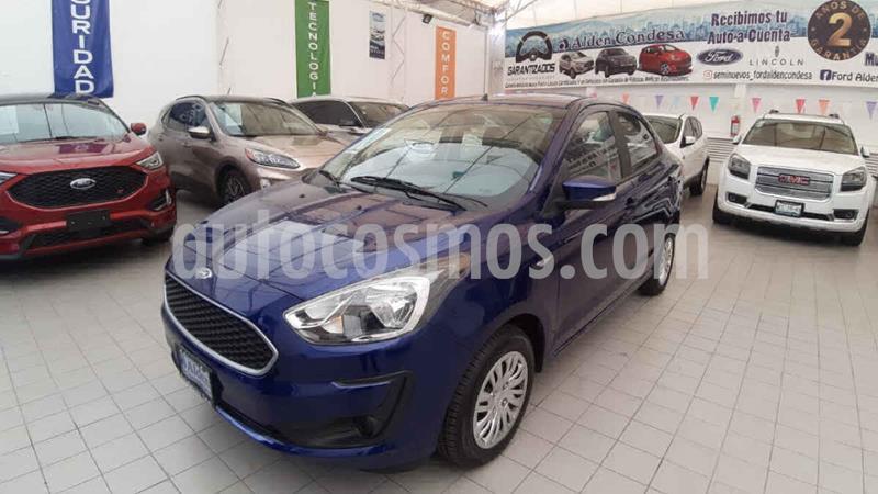 Ford Figo Sedan Impulse  usado (2020) color Azul precio $248,300
