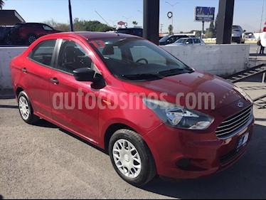 Foto Ford Figo Sedan Impulse A/A usado (2017) color Rojo precio $139,000