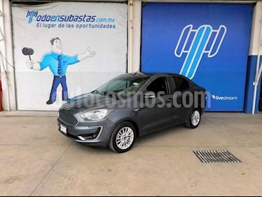 Ford Figo Sedan Titanium Aut usado (2019) color Gris precio $139,000