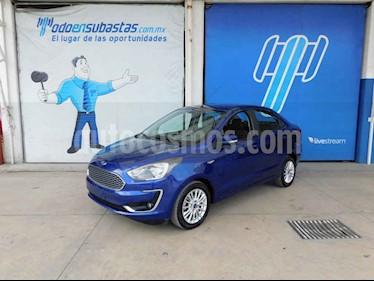 Ford Figo Sedan Titanium Aut usado (2019) color Azul precio $125,000
