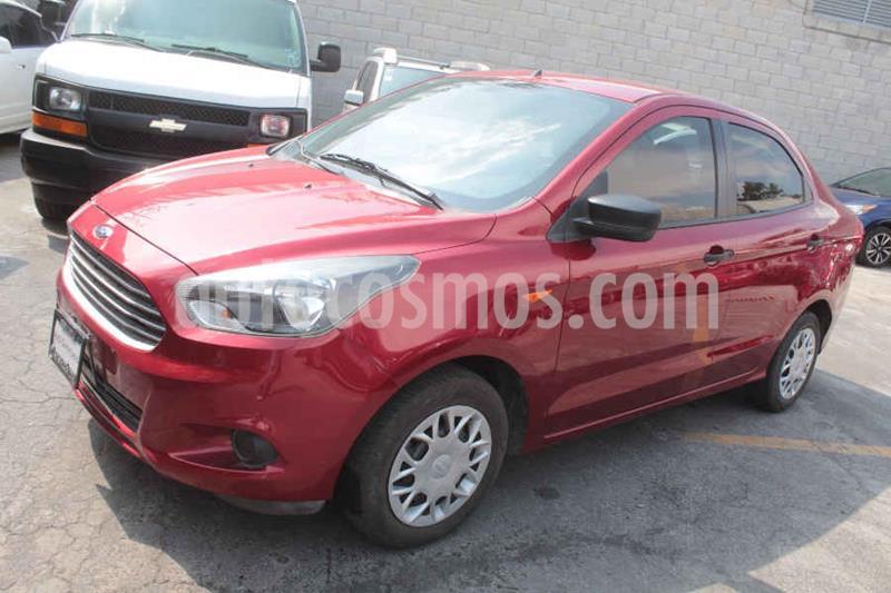 Foto Ford Figo Sedan Impulse A/A usado (2018) color Rojo precio $149,000