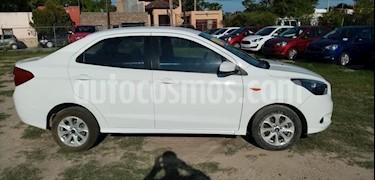 Ford Figo Sedan Titanium Aut usado (2018) color Blanco precio $180,000