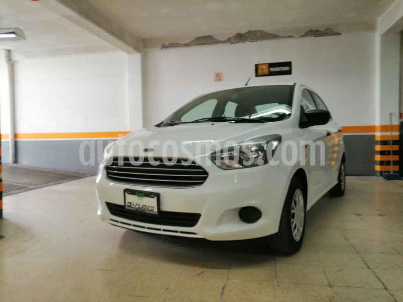 Ford Figo Sedan Impulse A/A usado (2017) color Blanco precio $155,000