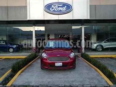 Ford Figo Sedan Impulse Aut A/A usado (2018) color Rojo precio $157,000