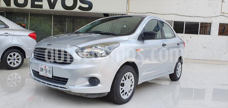 Ford Figo Sedan Impulse  usado (2017) color Plata precio $129,000