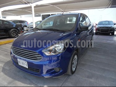 Ford Figo Sedan Impulse A/A usado (2018) color Azul Claro precio $165,000