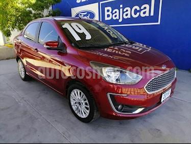 Ford Figo Sedan Titanium Aut usado (2019) color Rojo precio $225,000