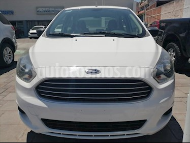Ford Figo Sedan Impulse Aut A/A usado (2016) color Blanco precio $140,000