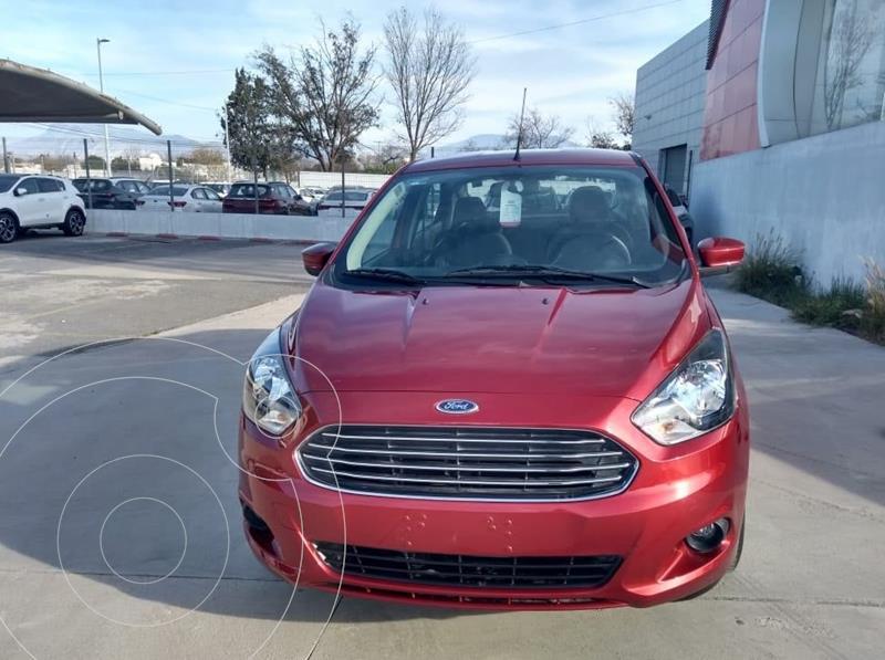 Foto Ford Figo Sedan Titanium usado (2018) color Rojo Cobrizo precio $180,000