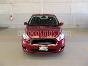 Ford Figo Sedan Titanium Aut usado (2017) color Rojo precio $168,000