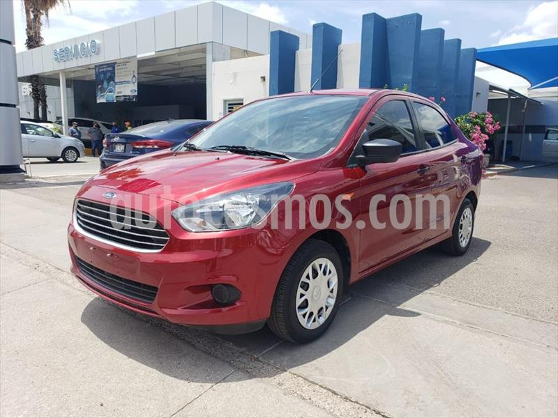 Ford Figo Sedan Impulse A/A usado (2017) color Rojo precio $130,000